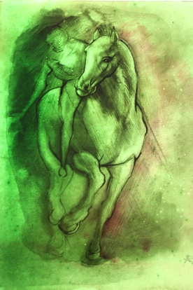 Green Horse Rachel Phillips 2010