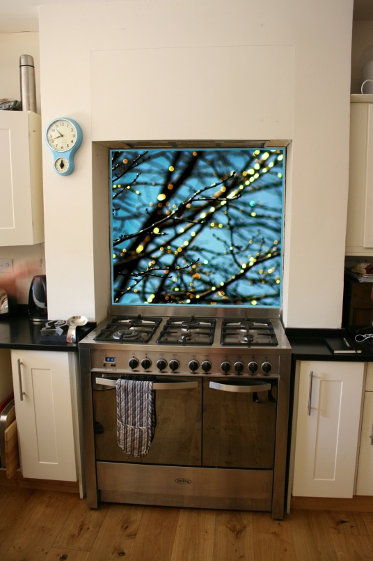 Digital print on glass