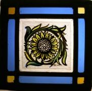 Panel 26 - Large Petal Sunflower 14cm x 14cm £45