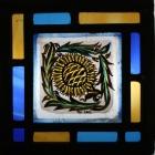Panel 23 - Small Petal Sunflower 14cm x 14cm £45