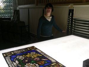 Jasmine Allen, Curator.  Ely Stained Glass Museum