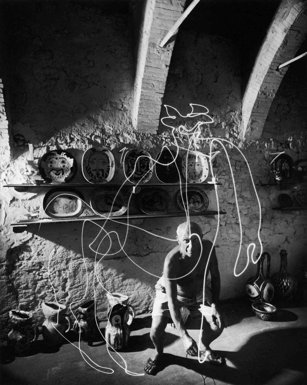 Behind the Picture: Picasso 'Draws' With Light