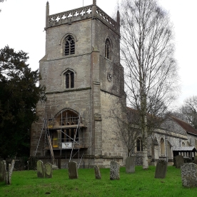 Fig 1 West Tower, St Michael and All Angels, Blewbury